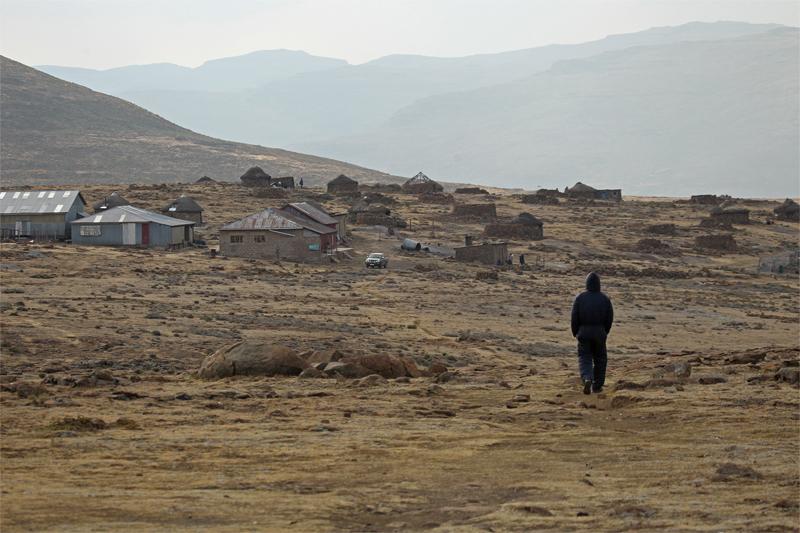 Lesotho, Oct 2010