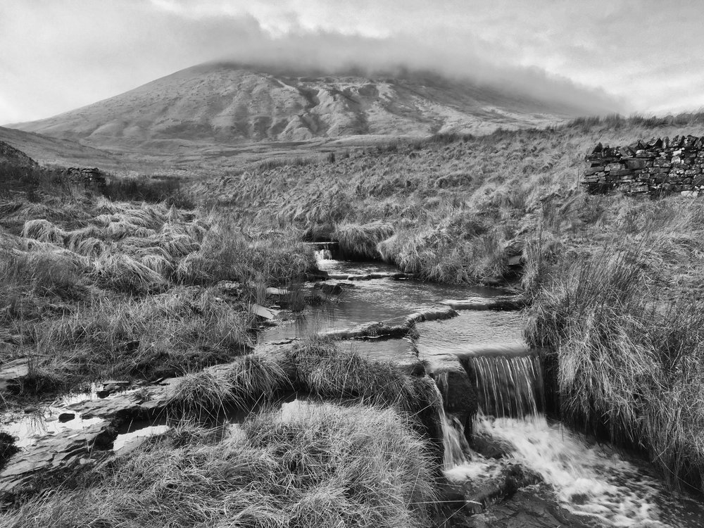Pendle Hill, East Lancashire February 2017