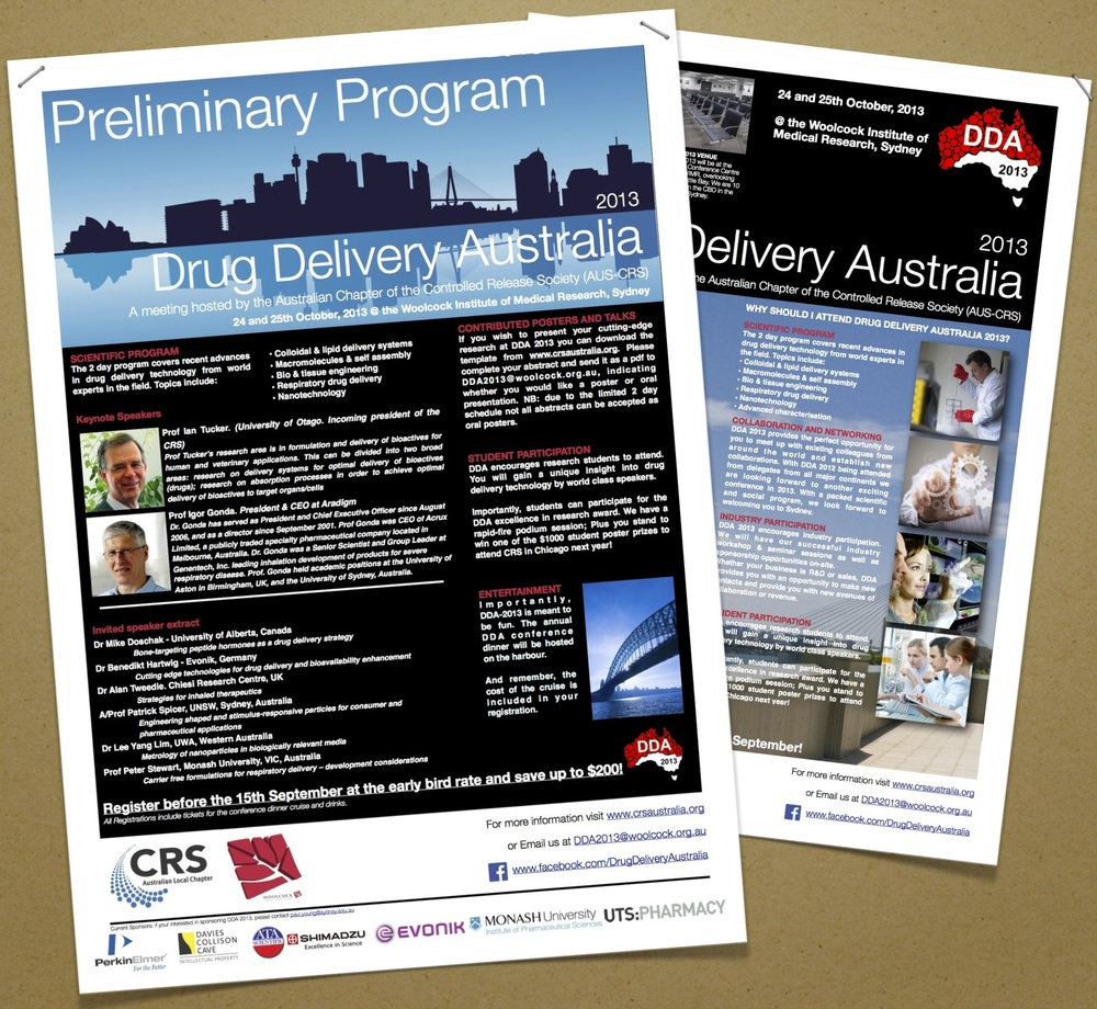 Download the most recent flyer and program here