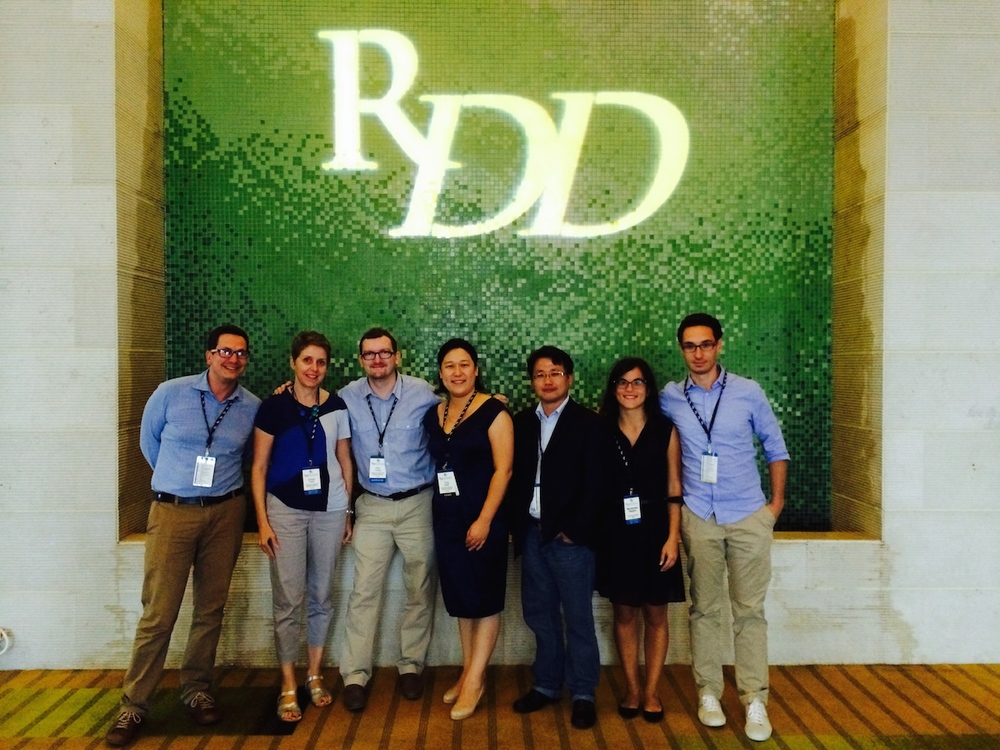 Members of the RespiTech Team at RDD 2014