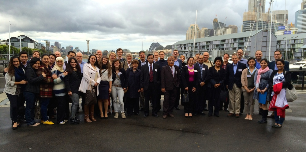 ISAM 2014 DELEGATES | SYDNEY HARBOUR CRUISE CONFERENCE DINNER