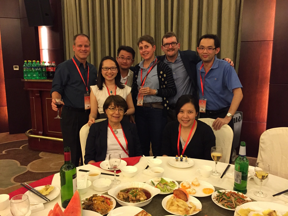 RespiTech Members at Inhalation Asia. Clockwise from top left: David Cipolla (Aradigm), YY, Eric Zhu, Dany Traini, Paul Young, Wing-Hin Lee, Judy Loo, Lego Scientists, Lily Daviskas