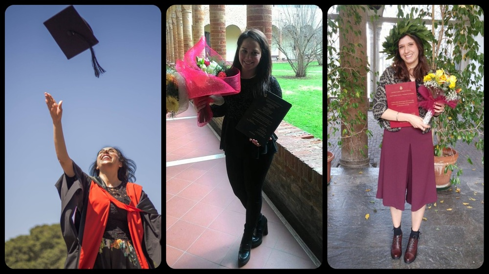 Mali, Valentina and Beatrice graduations | March 2016