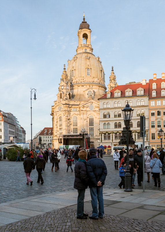 The Dresden Frauenkirche (Church of Our Lady)