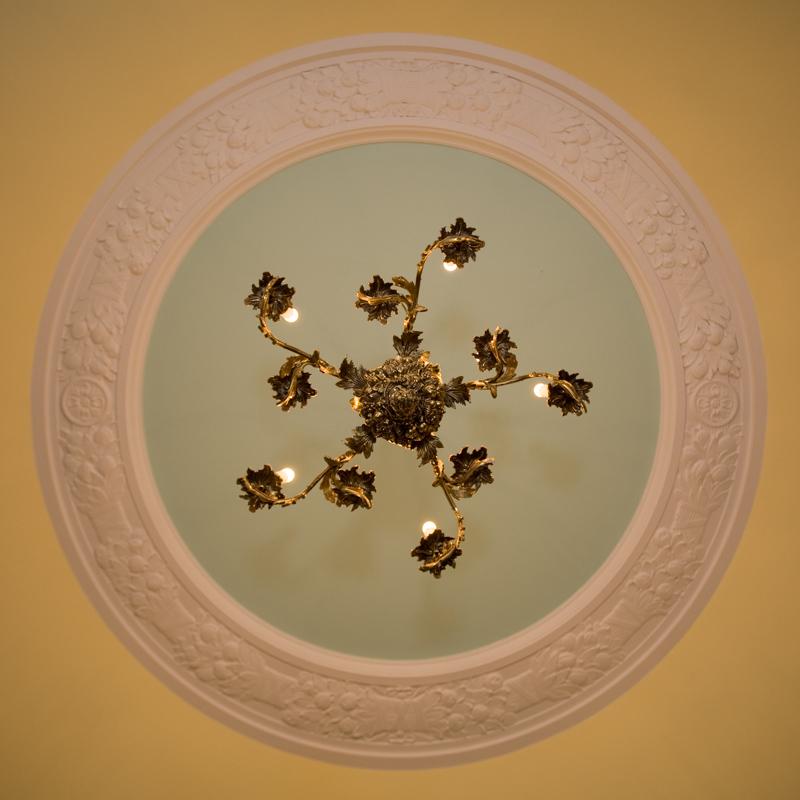 Philadelphia ceiling.