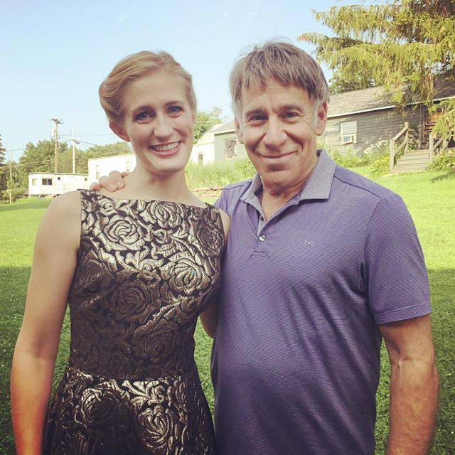 Performed for and with a personal musical idol and inspiration today: composer and lyricist Stephen Schwartz. It was a soul-filling experience and one I'll never forget. #2017ggf #stephenschwartz #glimmerglassfestival #nerdingout #fangirling