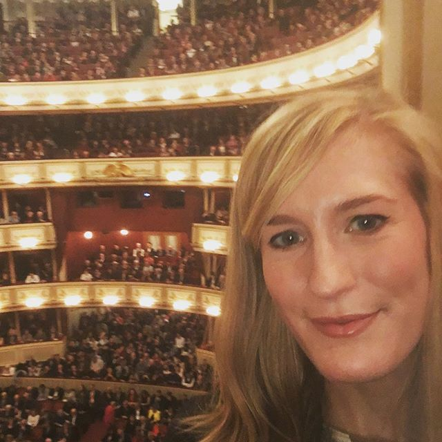Just watched @joycedidonato shine tonight in Les Troyens at the @wienerstaatsoper. I was so moved and excited. A beautiful production, amazing orchestra, fantastic singing. It was the perfect first show to see at this historic house. Also um....I can't believe I get to sing here. What is my life?!