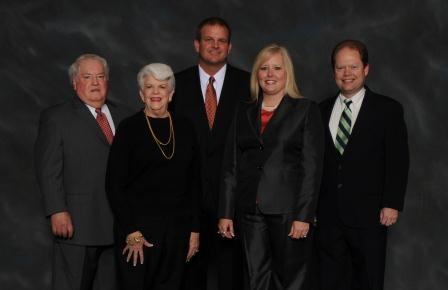 Left to Right: Phillip Beard, Pat Pirkle, Daren Perkins, Beth Lancaster,Bruce Fricks