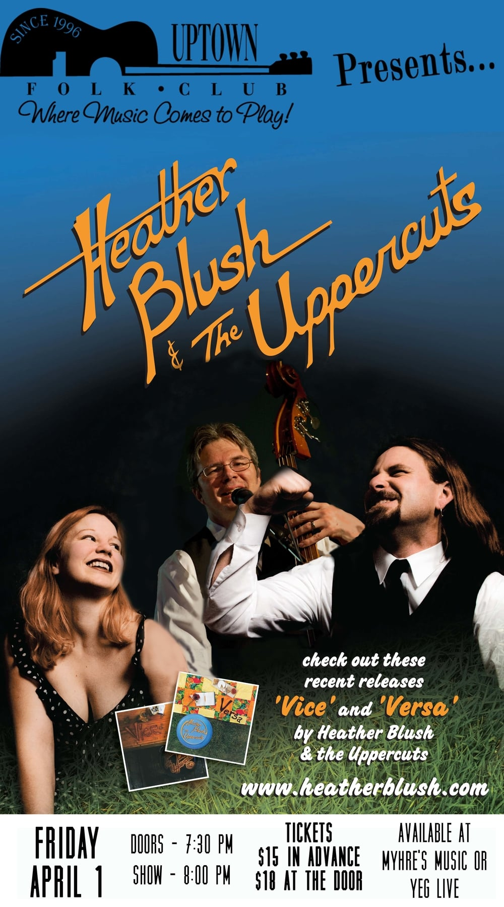 Heather Blush and the Uppercuts