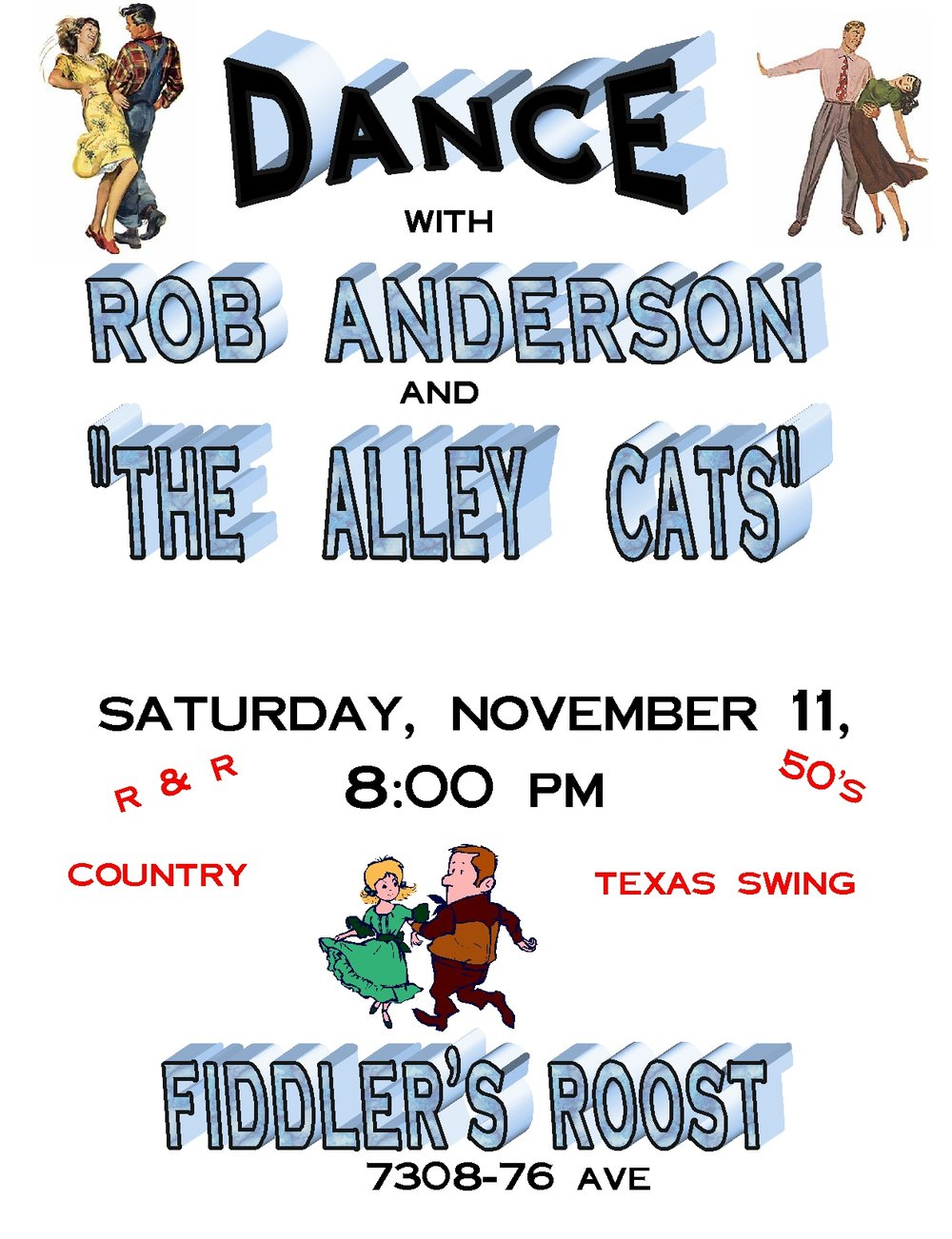Rob Anderson & The Alley Cats