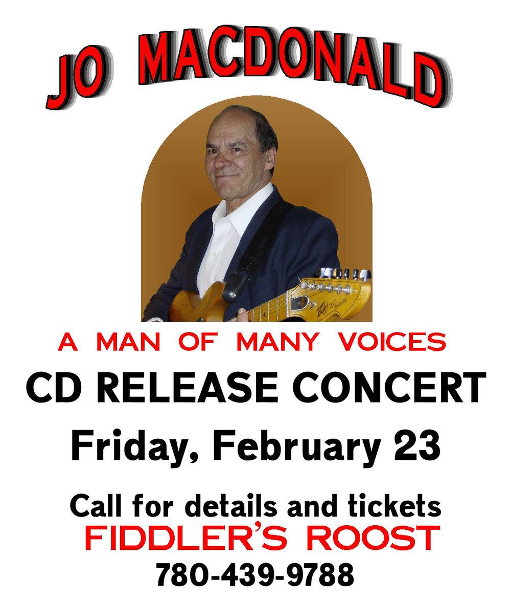 Fiddler's Roost - Jo MacDonald CD Release Concert