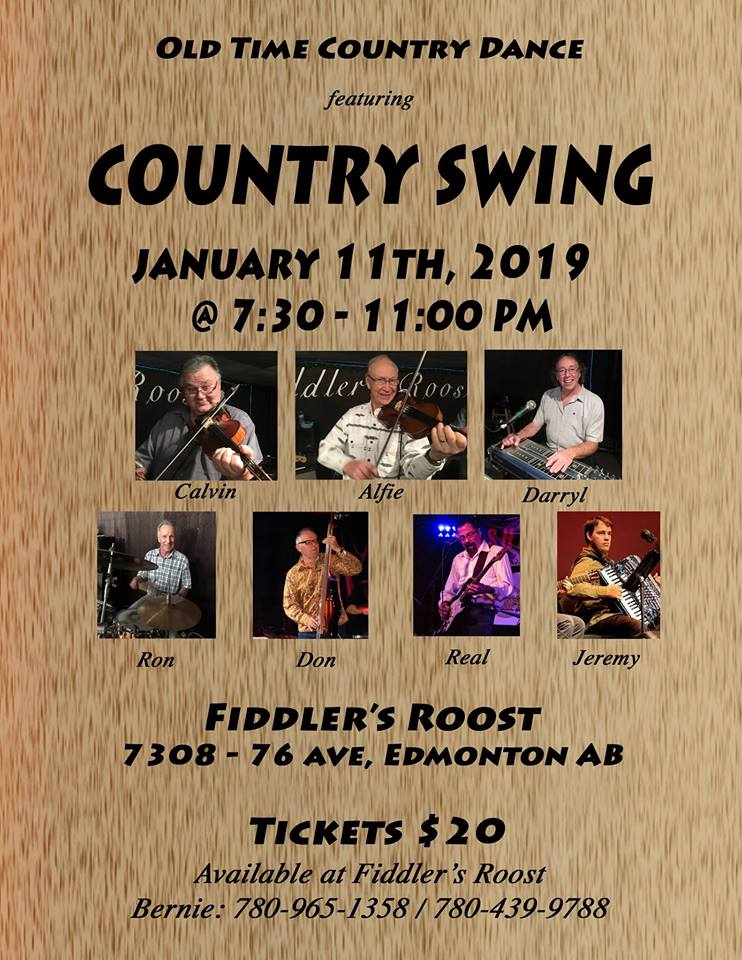 Old Time Dance With Country Swing Fiddlers Roost