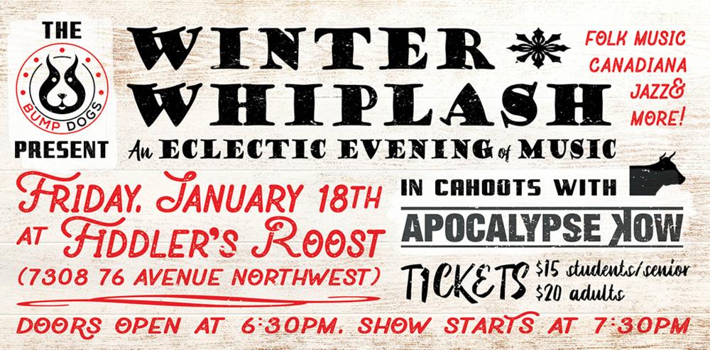 Fiddler's Roost - Bump Dogs Winter Whiplash