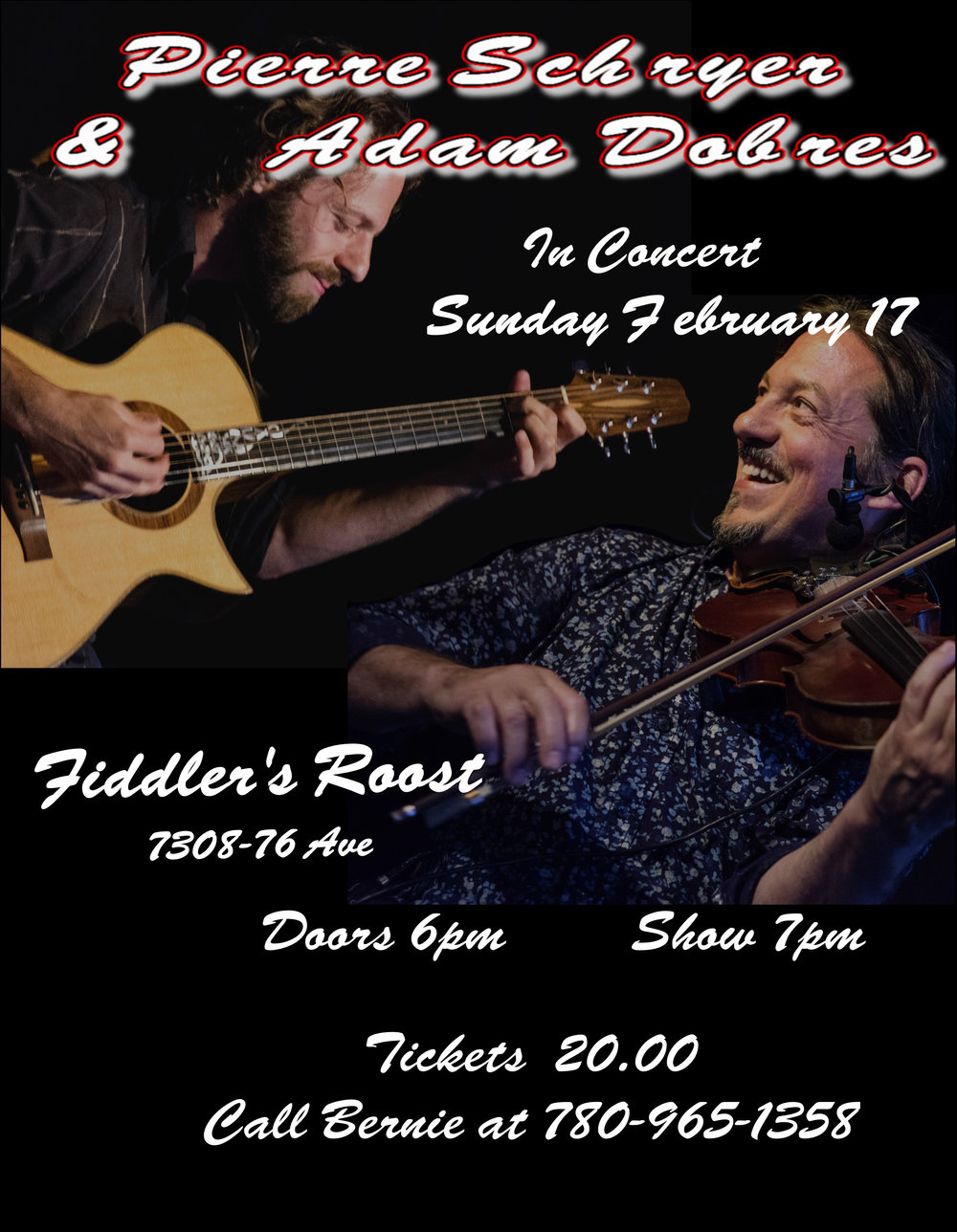 Fiddler's Roost - Pierre Schryer & Adam Dobres