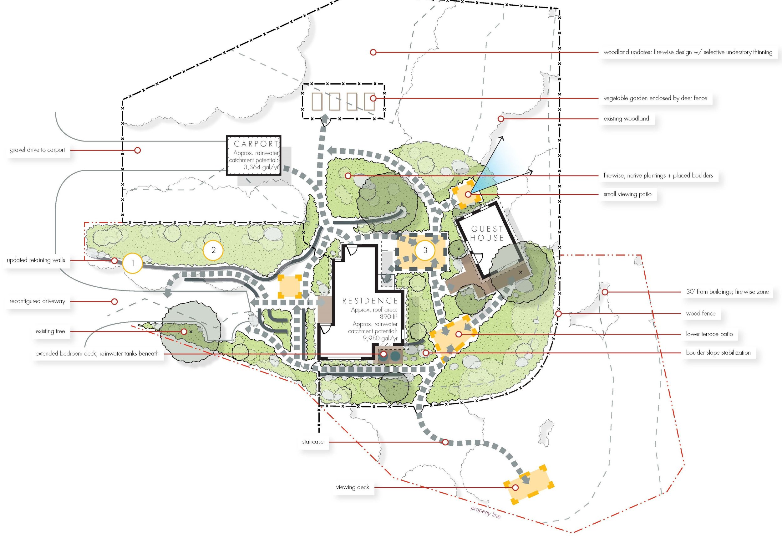 Conceptual Design Site Planning Landscape Architecture Residential Examplenbsp