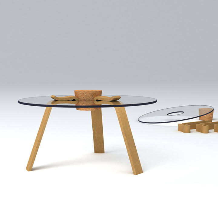 Hyeonil Jeong - Cork Stopper Table.jpg