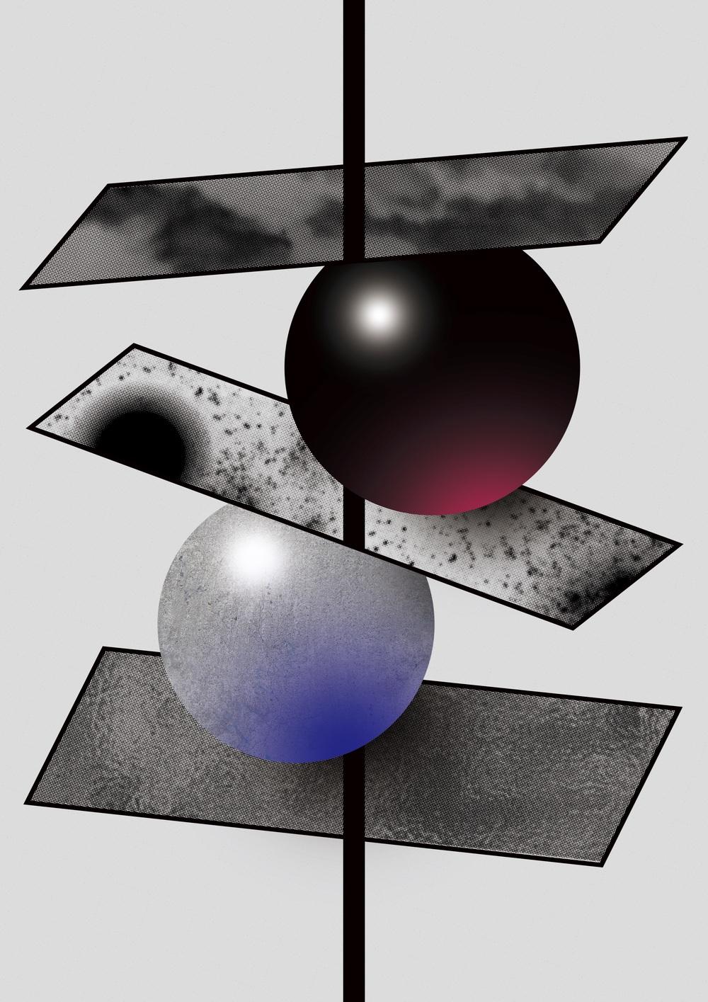 기의 구성Flag Composition by 윤민구(안 그라픽스)  Min-Gu Yoon(Ahn Graphics)