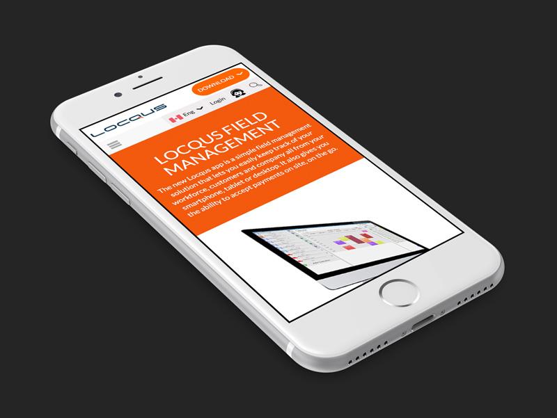 Locqus  Responsive Website