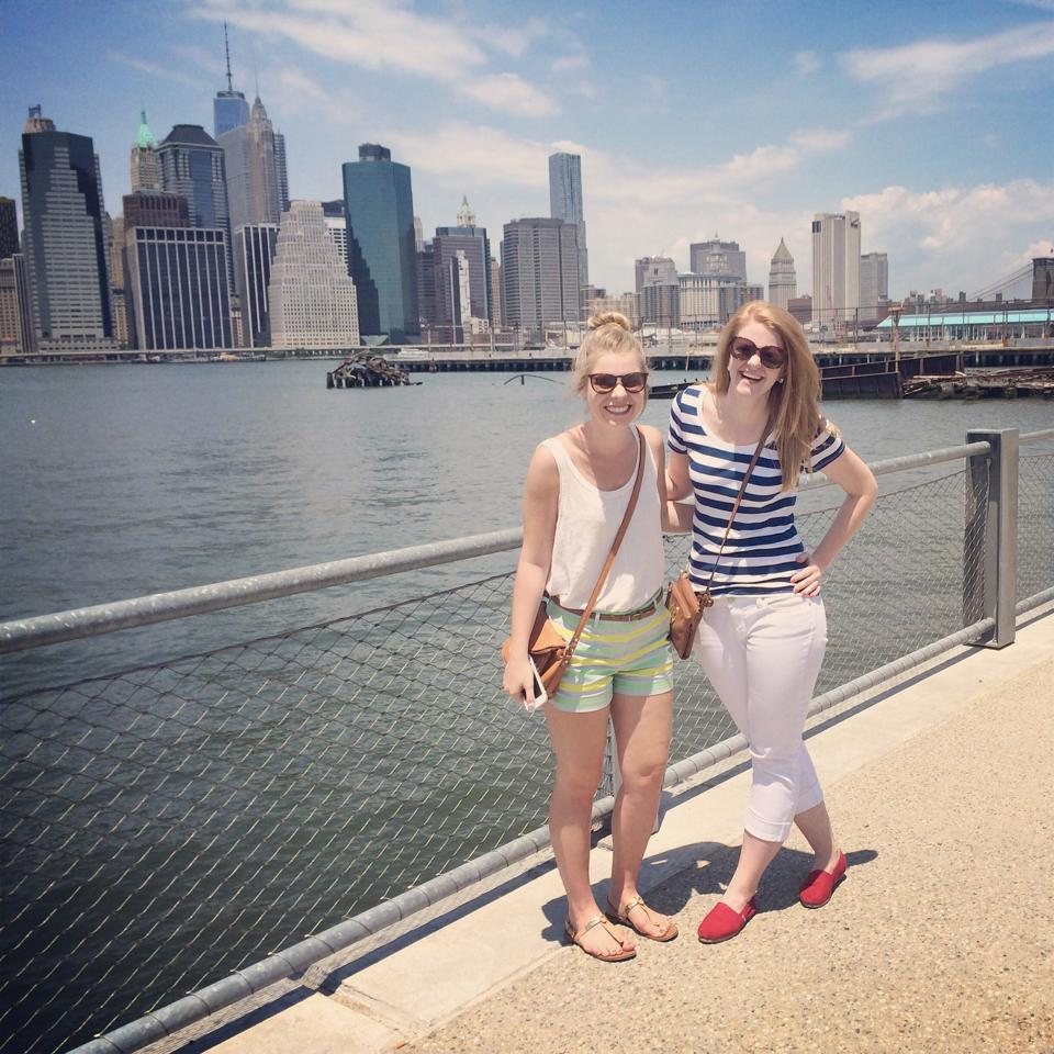 Jenna and I at Pier 5 in Brooklyn for Smorgasburg!