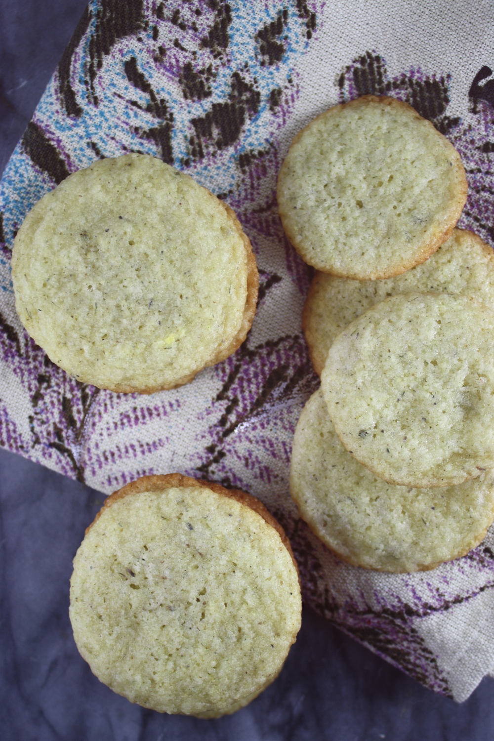 lavender cookies (only 70 calories!)