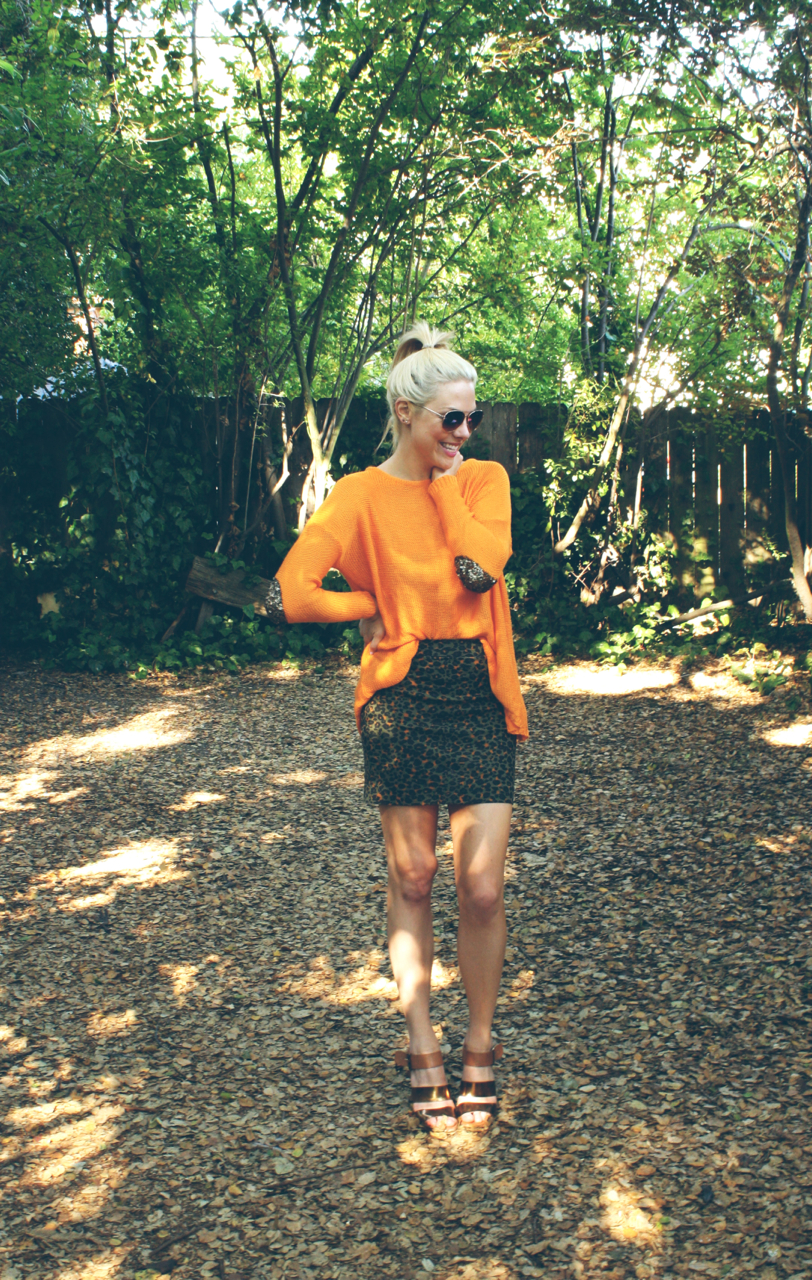 h&m skirt, orange sweater .jpg