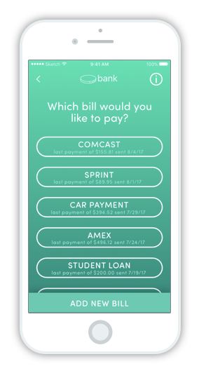 Banking App Redesign - Pay A Bill