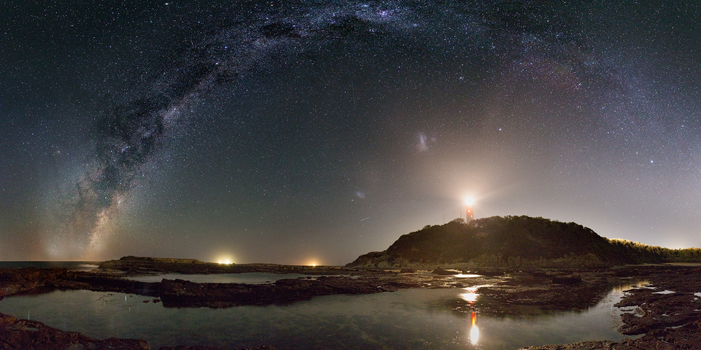 Milky Way at Norah Head Lighthouse