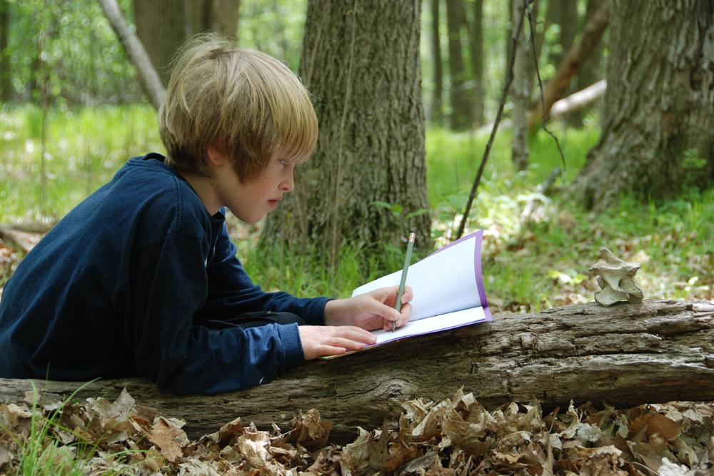 child writing-art in nature.jpg