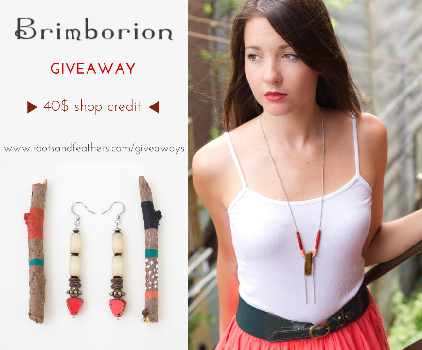 Brimborion Giveaway on Roots and Feathers