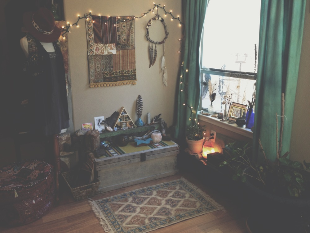 All of the girls of The Bohemian Collective shared their sacred spaces over on the blog for International Love Day!