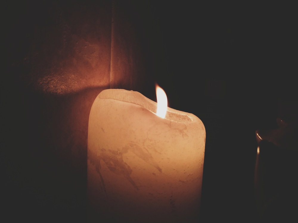 my candle from my bath time... always so inviting.