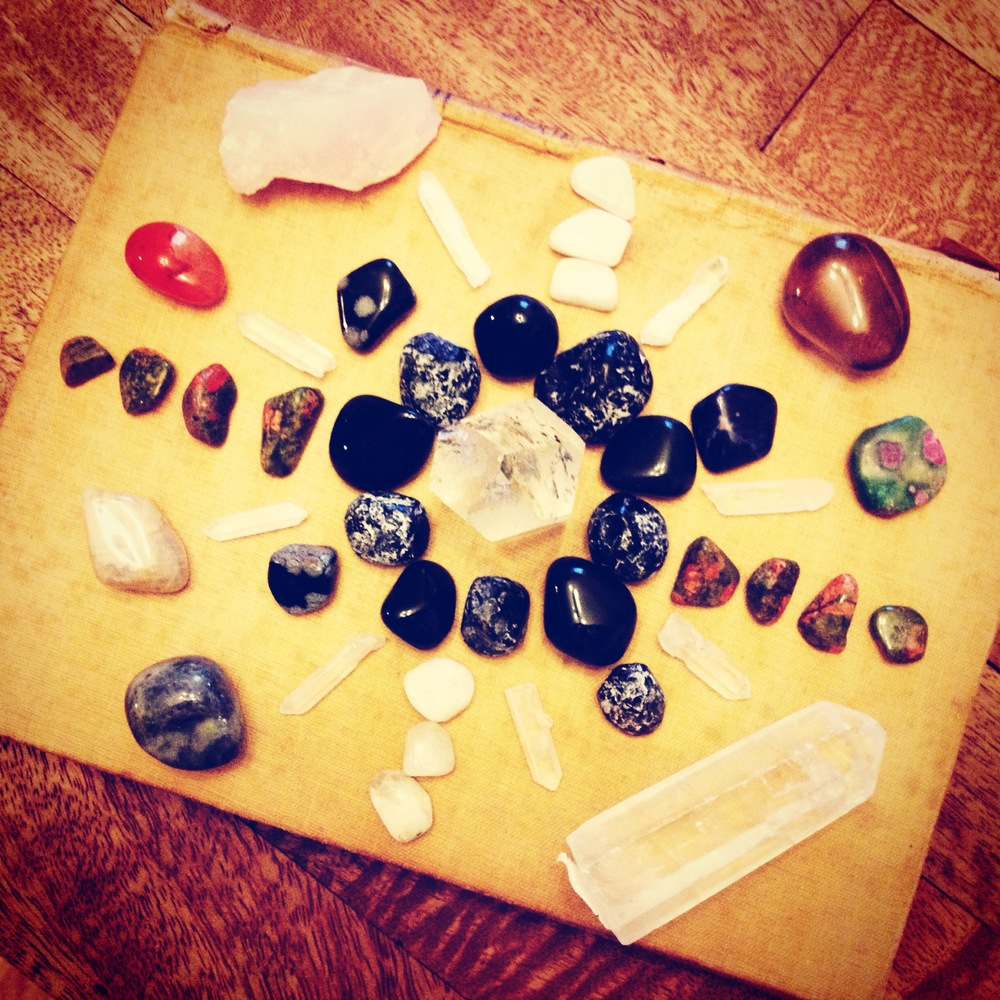 All of these stones were gifted to me within 24 hours!!! Hard to believe...