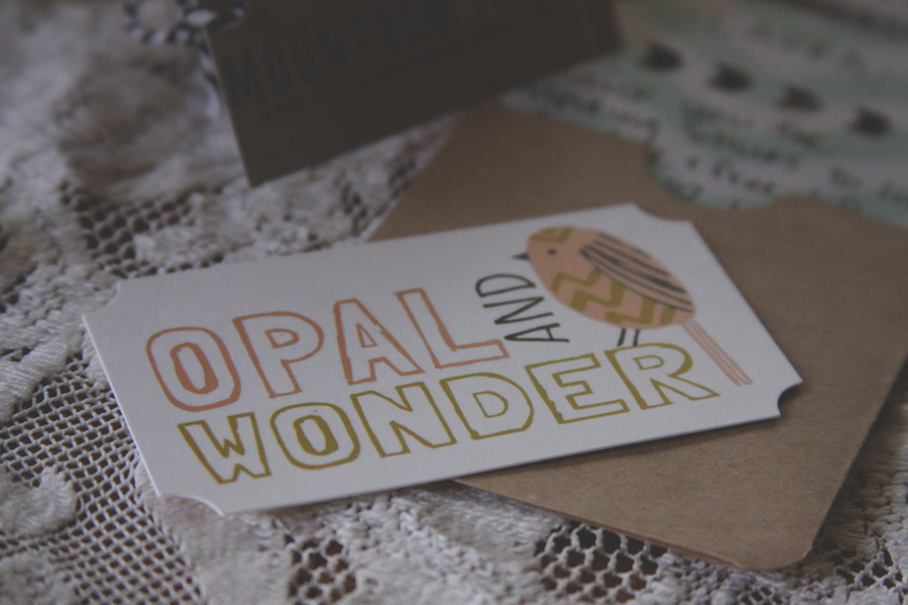 Opal & Wonder