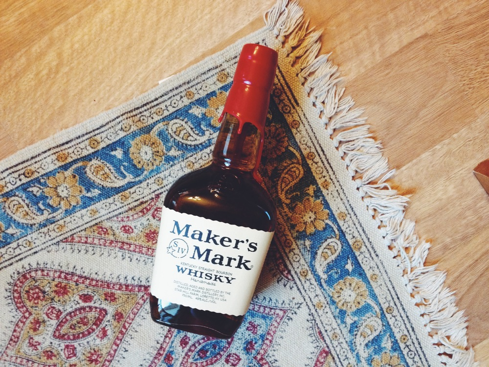 Makers Mark via Roots & Feathers