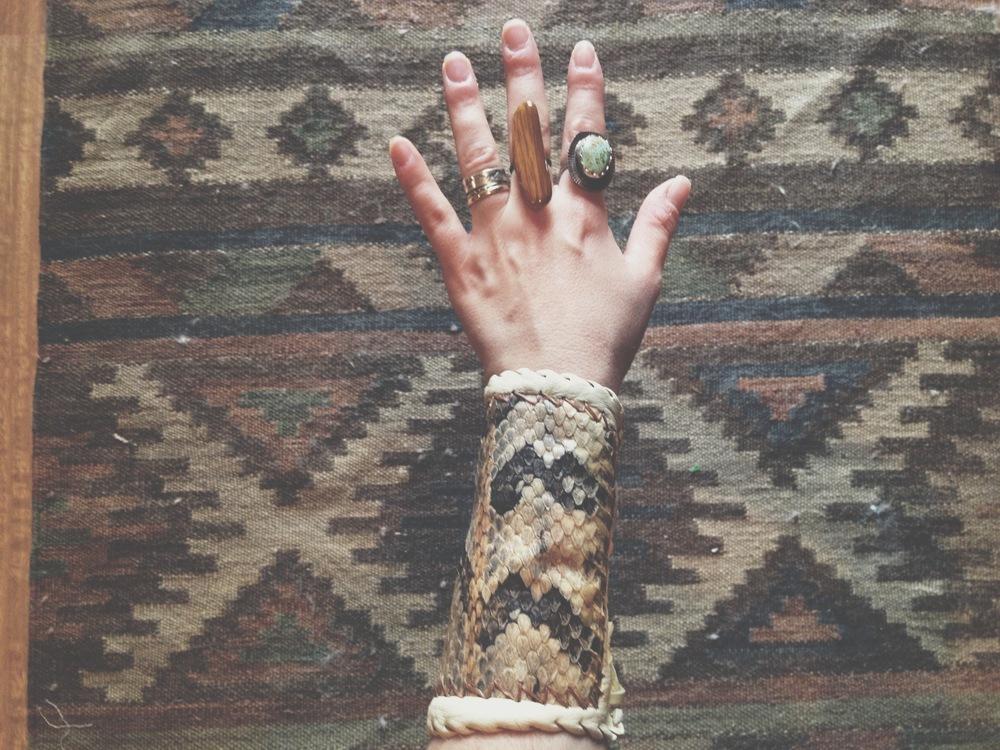Gypsies Caravan Snake Cuff