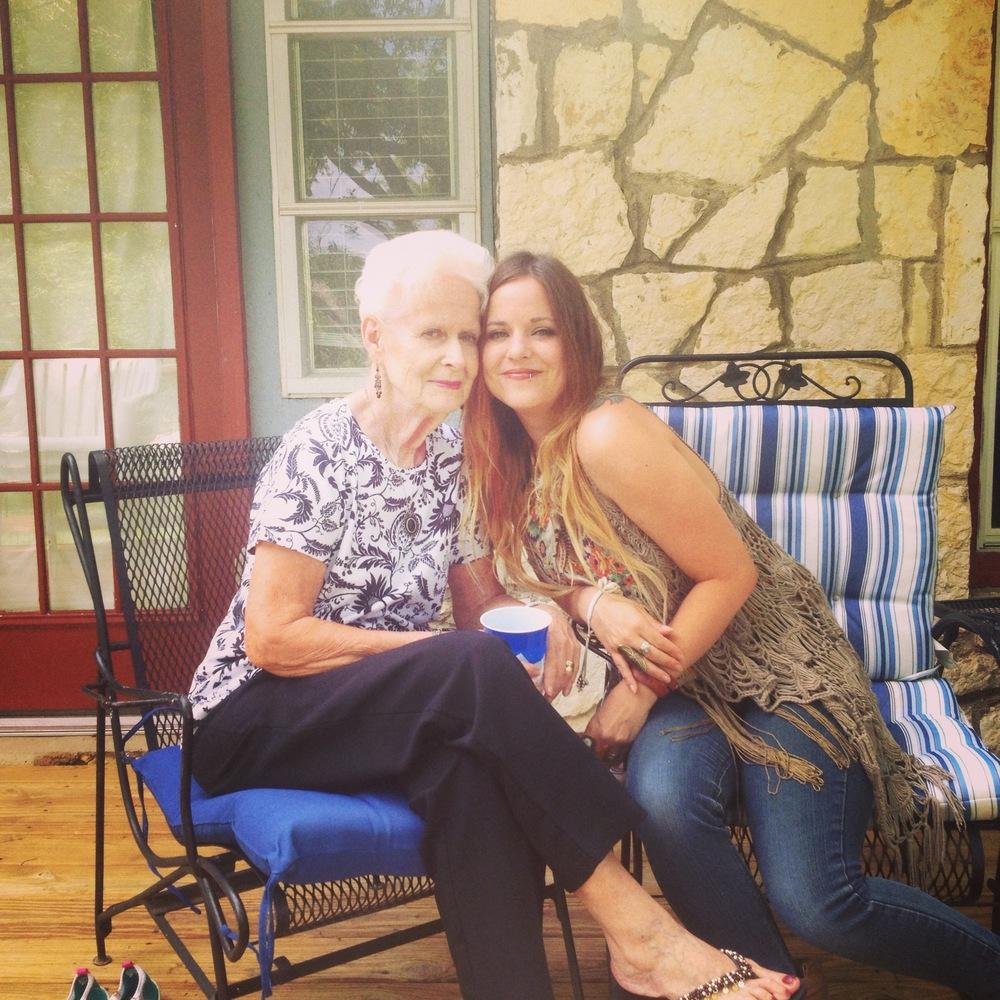 my nanna and i