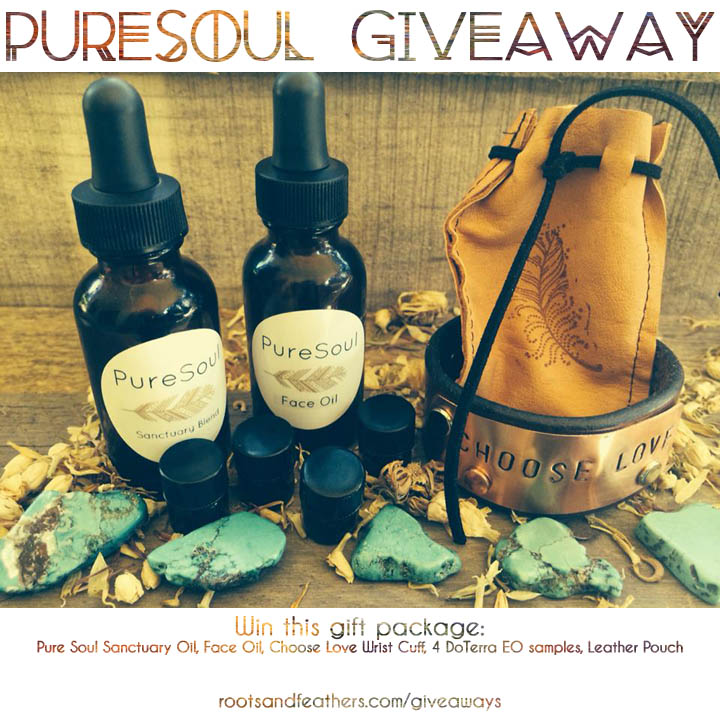 Pure Soul Giveaway via rootsandfeathers.com