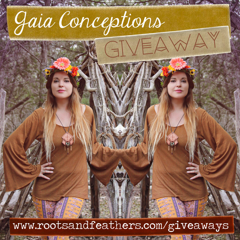 Gaia Conceptions Bell Sleeve Top Giveaway