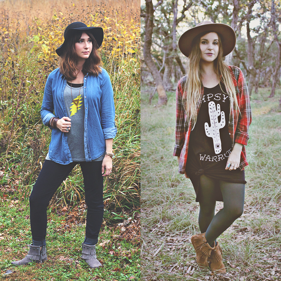 One Style, Two Ways with Minnetonka
