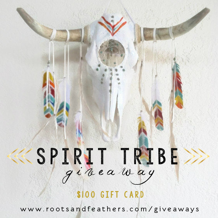 Spirit Tribe Giveaway via rootsandfeathers.com