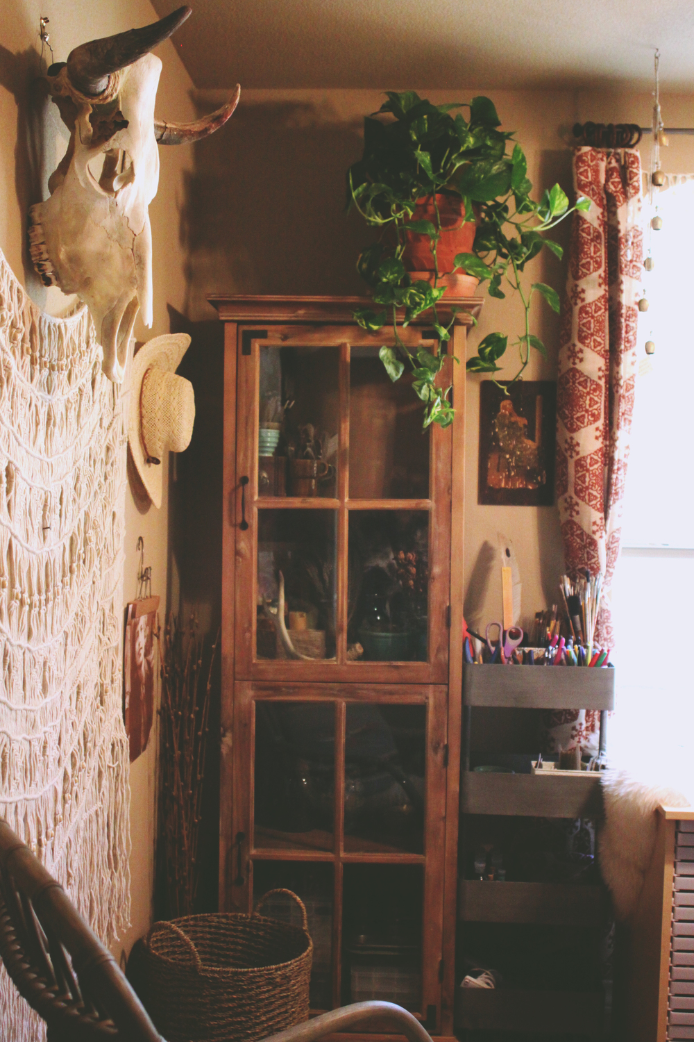 Studio Makeover via rootsandfeathers.com