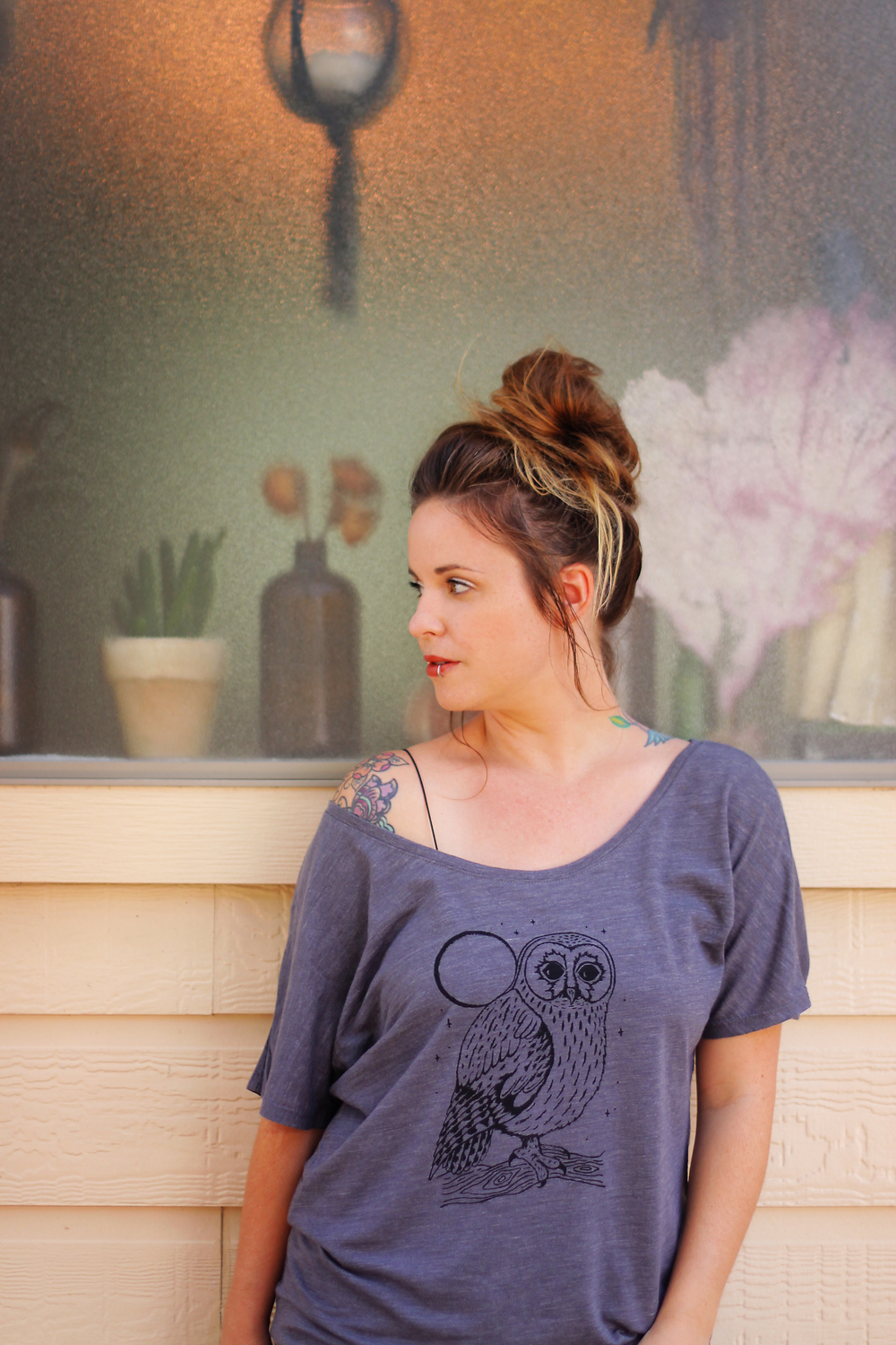 Skyline Fever Luna Owl Shirt