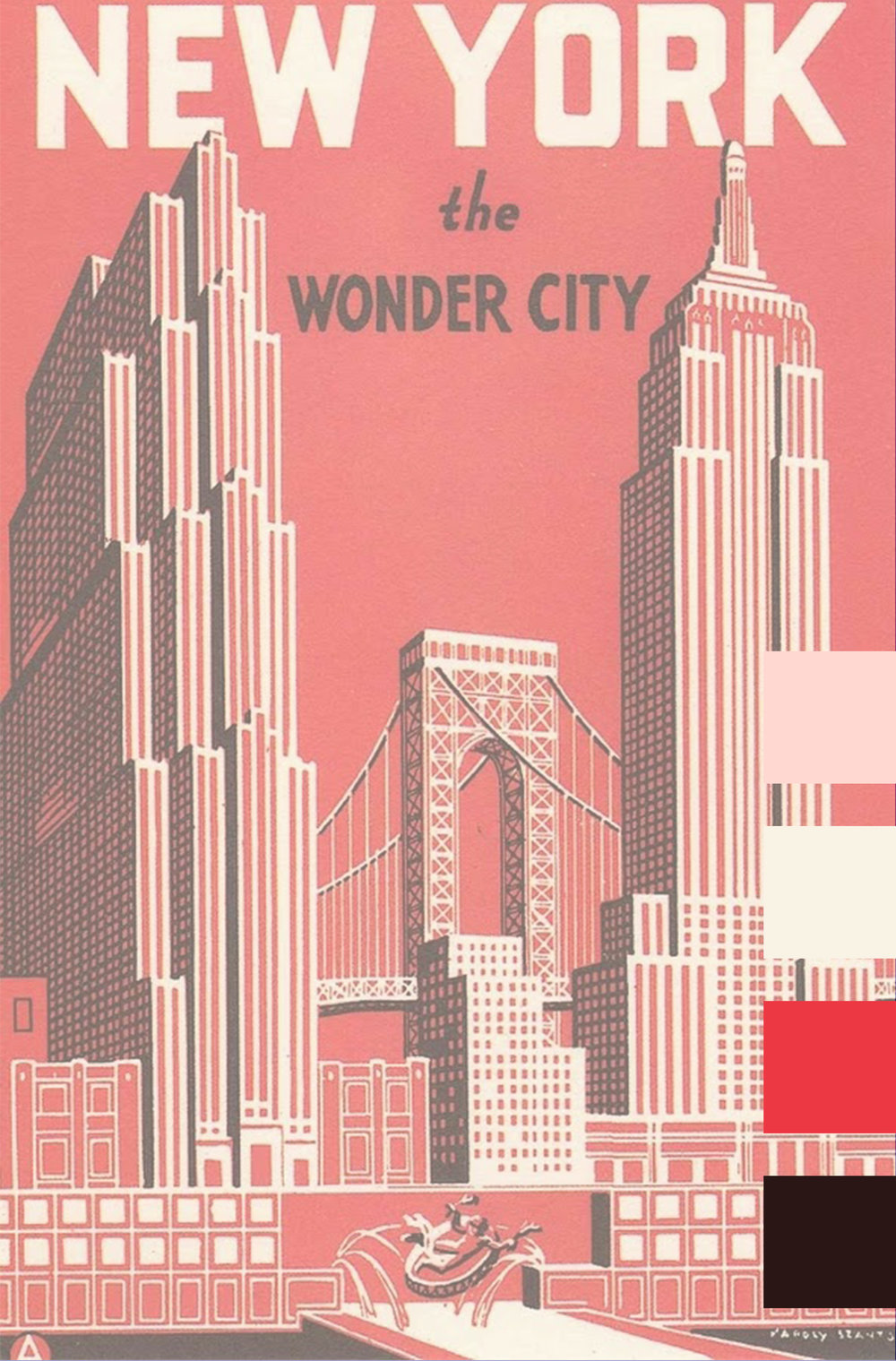 NEW YORK the WONDER CITY | Color Analysis