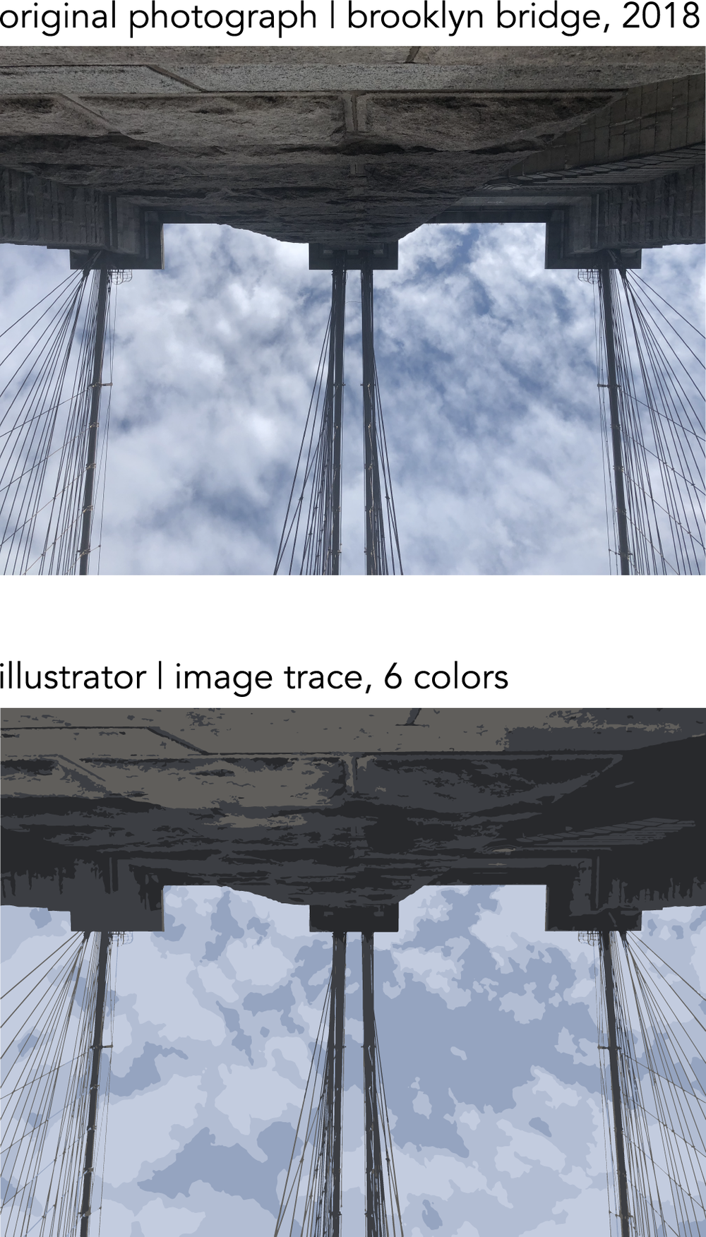 image to image trace with six colors.