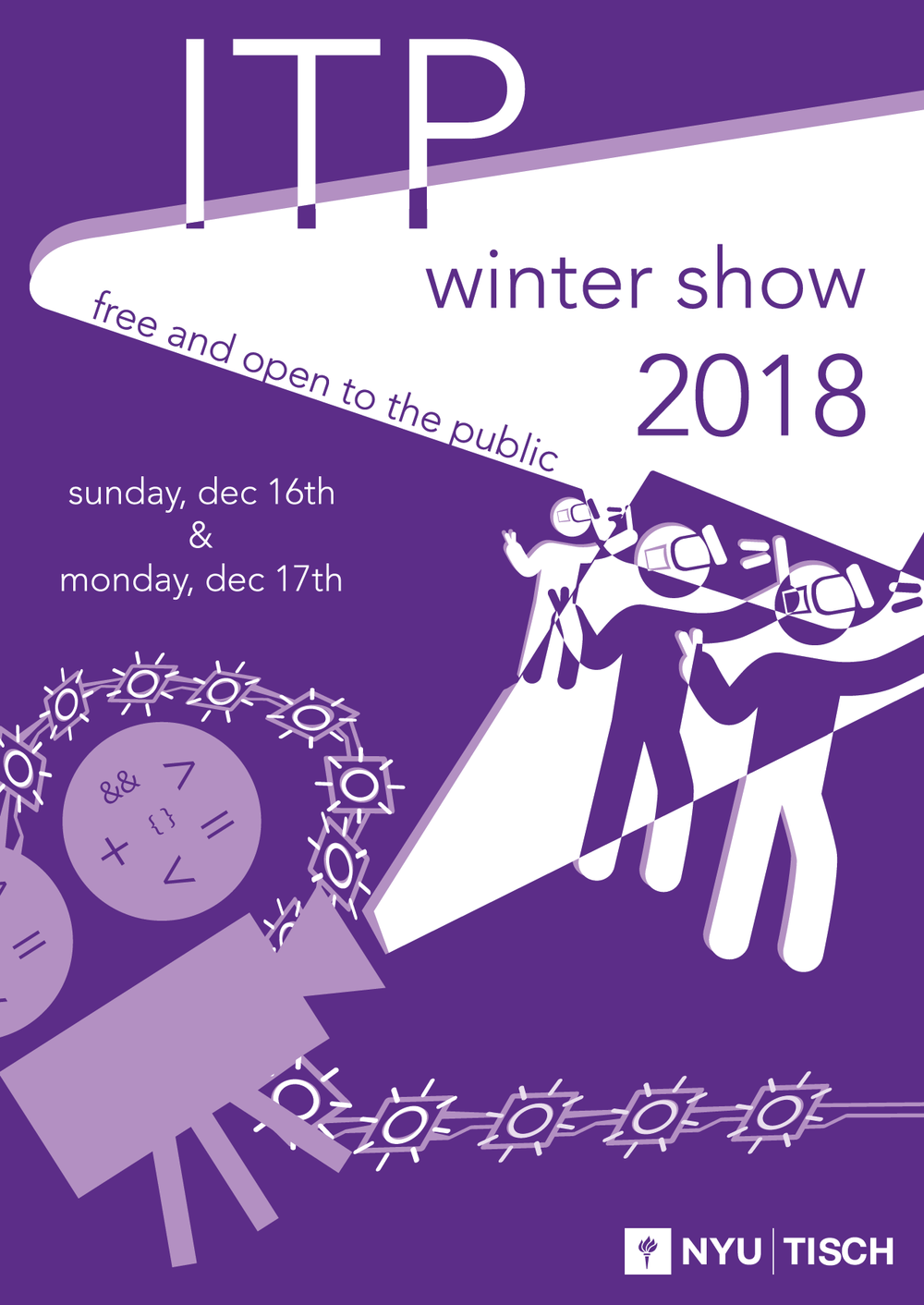 2018 ITP Winter Show Poster Submission