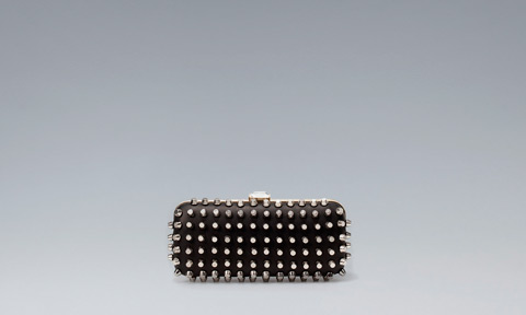 Studded Evening Box Bag, Zara