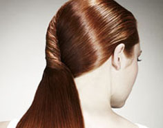 The Flowing French Twist, Pantene