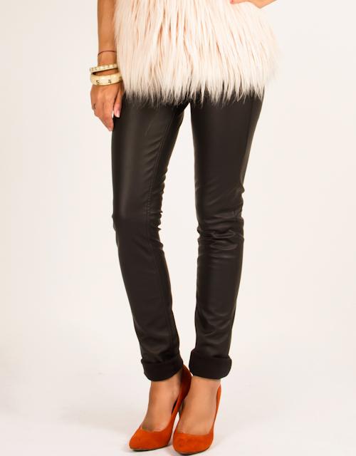 Leatherette trousers - Toi & Moi