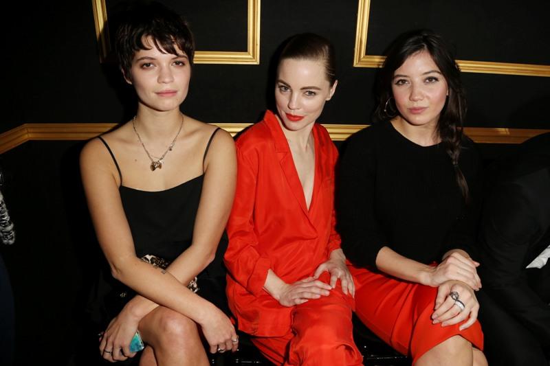 Fashion Show: Pixie Geldof, Melissa Georga & Daisy Lowe wearing H&M