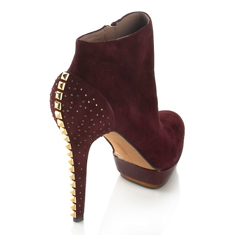 Vince Camuto, deny studded suede bootie